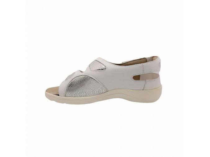 Dámské sandály pro širokou nohu Varomed Berlin 79721 bronzové 1