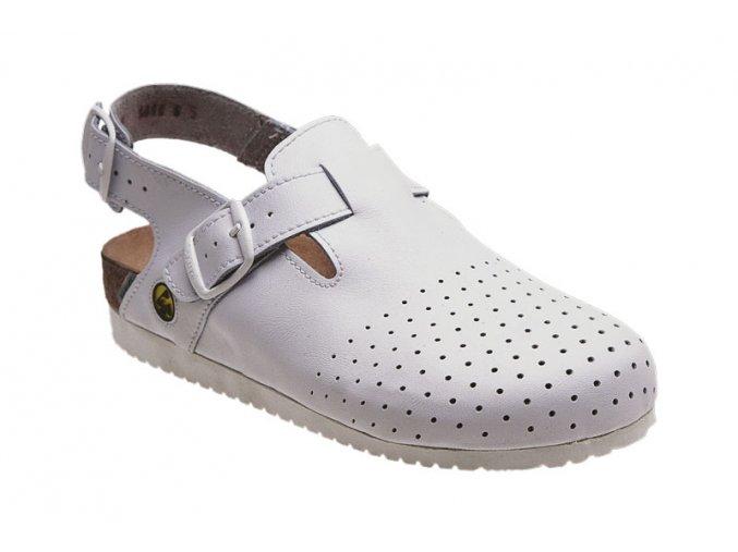 Santé zdravotní obuv N/82/10/E/P pánská bílá
