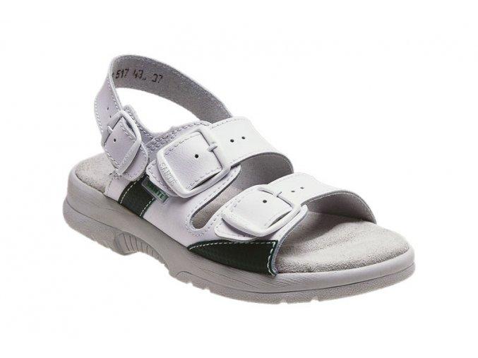 Santé zdravotní obuv N/517/45/10 pánská bílá