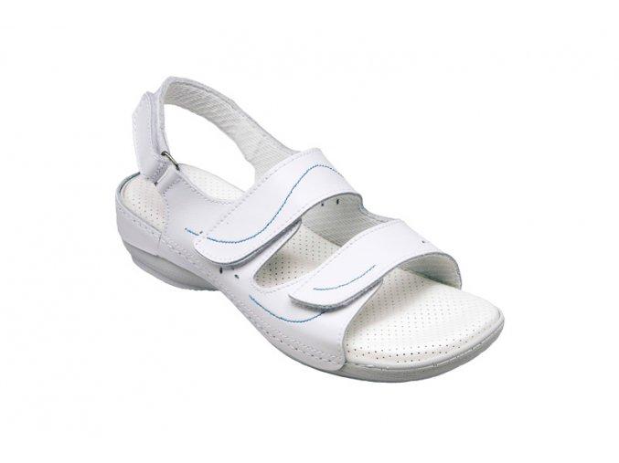 Santé zdravotní pracovní obuv N/124/2/10/B bílá