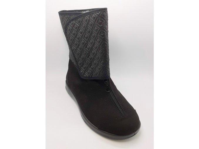 Dámské kozačky pro široké nohy Varomed Wels 60990
