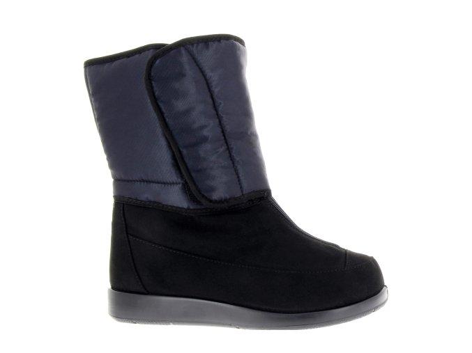Pánské kozačky pro široké nohy Varomed Wels 60990