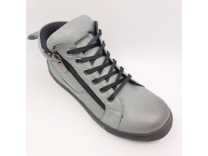 Dámské kotníkové boty Looke Jocelina L0010/31 šedé