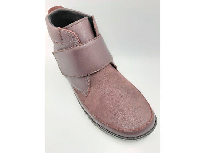 Berkemann 05350-286 Silka vínová dámská kotníková obuv