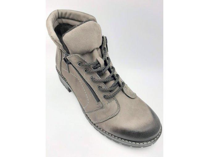 Dámská kotníková obuv Peon KA/Z205-6 hnědá