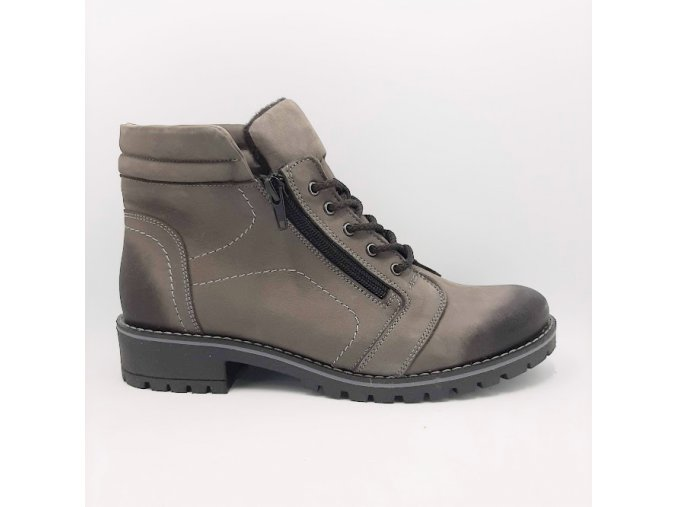 Peon KA/Z205-6 hnědá dámská kotníková obuv