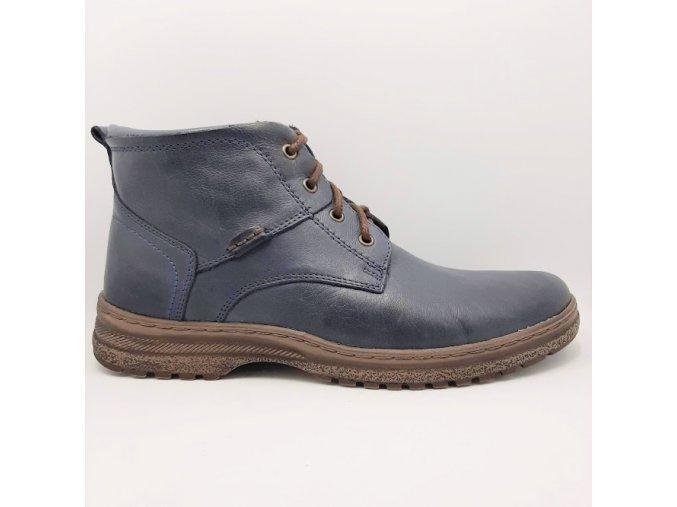 Peon LU/984-3 modrá pánské kotníkové boty