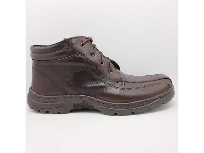 Peon LU/1003-8 hnědá pánská kotníková bota