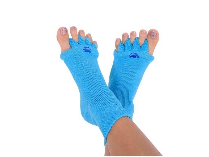 Adjustační ponožky modré BLUE