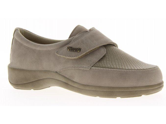 Dámské polobotky pro široké nohy Varomed Tallin 79151 béžové