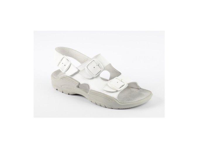 Zdravotní sandály Medistyle Otmar bílé