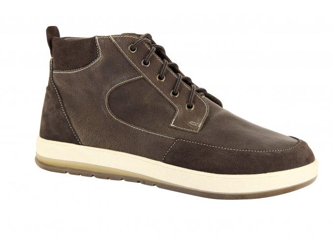 Pánské kotníčkové boty pro širokou nohu Varomed Dallas 82530