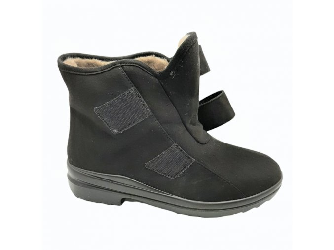 Dámské zimní kotníčkové boty pro širokou nohu Florett 46313
