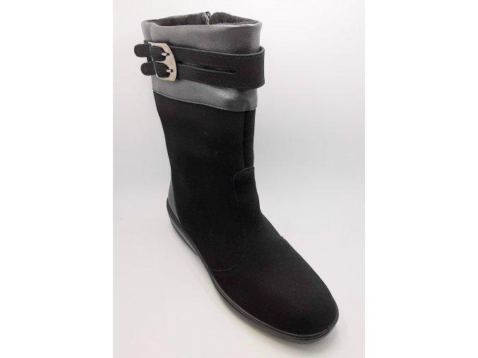 Dámské kozačky Florett 50621-60 černé