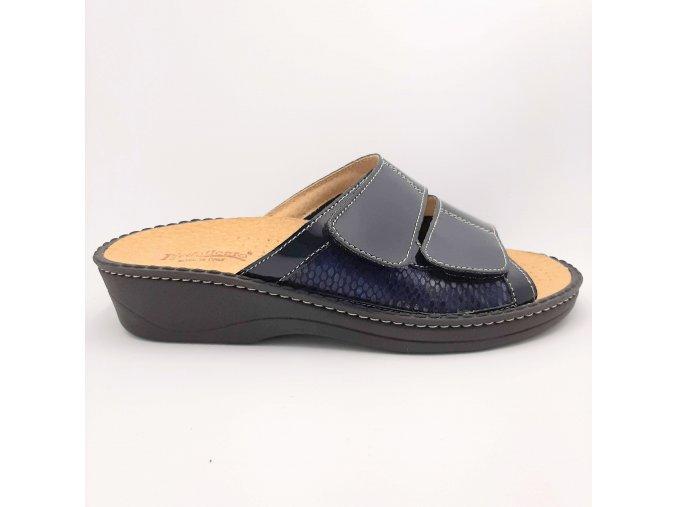 Dámské pantofle Piedallegro S27-BLK
