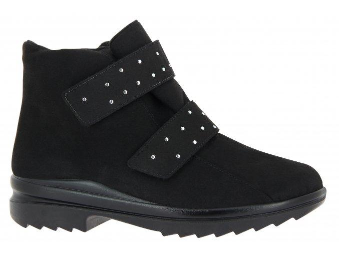 Dámské zimní kotníčkové boty pro širokou nohu Florett 46314 Luise