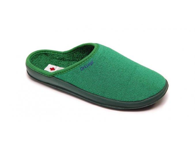 Domácí obuv Dr. Luigi světle zelená