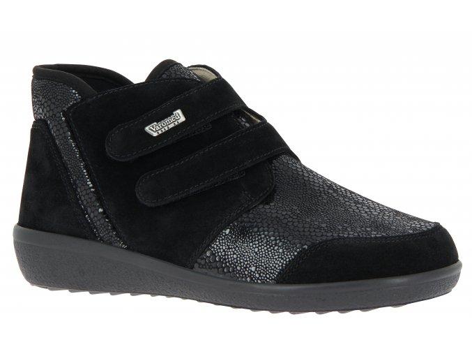Dámské kotníčkové boty Varomed 77351 Lyon černé