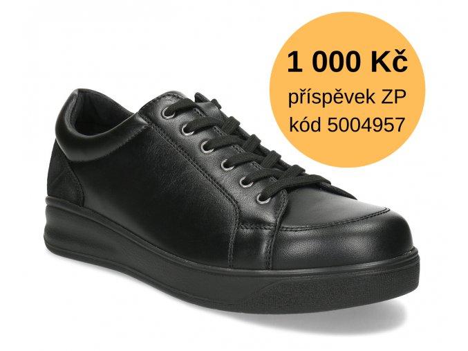 Diabetická obuv pánská BORIS MEDI černá