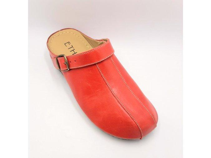 Dámské zdravotní sandály Florett 03541-01 červené