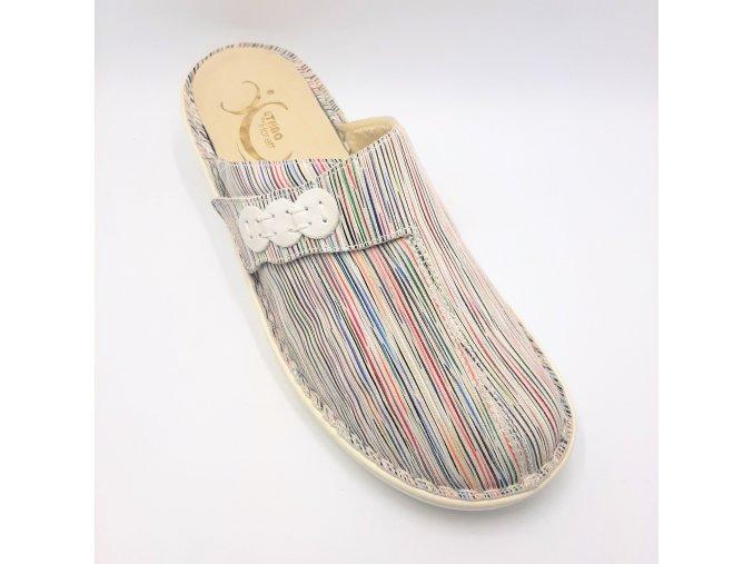 Dámské zdravotní sandály Florett 06811-90 bílé