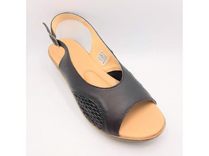 Dámské zdravotní sandály Medistyle 5A-P26 černé