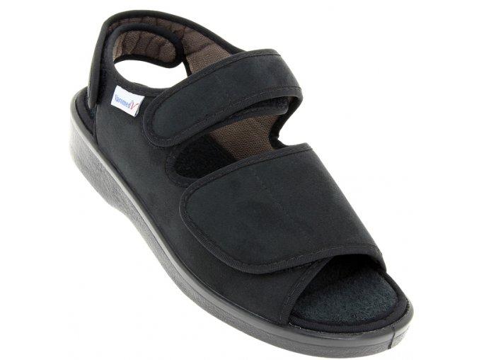 Boty pro široké nohy Varomed Lugano 58890 černé 1