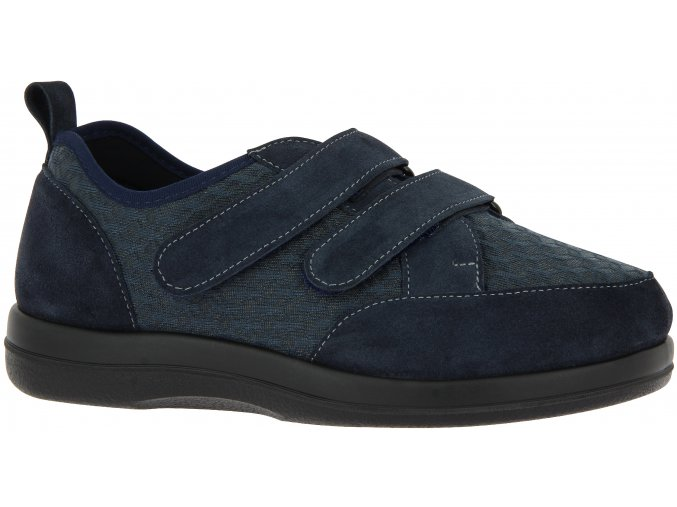 Tenisky pro široké nohy Varomed Farsund 62221-24 modré