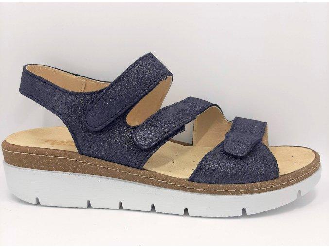 Dámské sandály Florett Kira 10211/25 modré