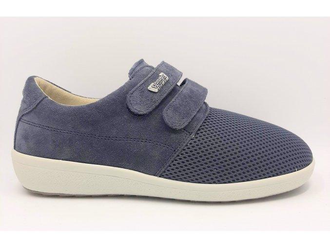 Dámské polobotky pro široké nohy Varomed Marseille 77271/23 modré
