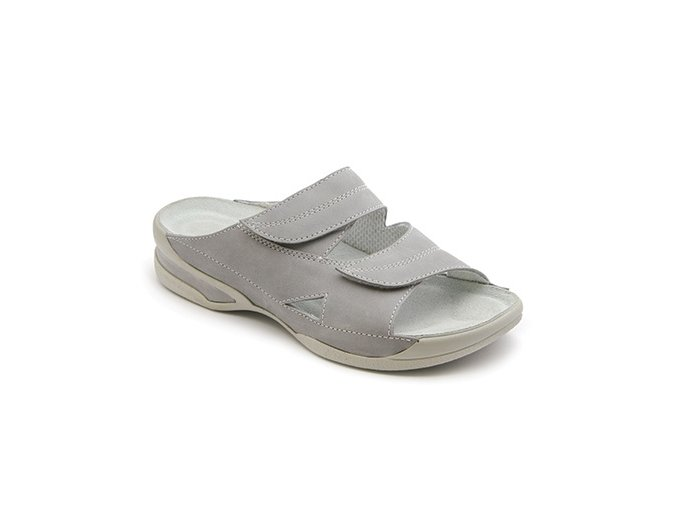 Dámské pantofle Medistyle Lucy 5L-E11 šedá