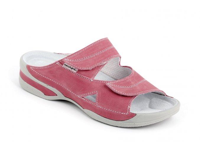 Zdravotní pantofle Medistyle Lucy 5L-E15/2 tmavě růžové