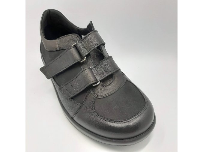 Dámské polobotky pro širší nohy Peon CD/2617-1 černé