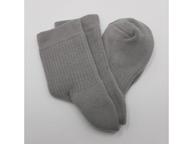 Antibakteriální ponožky se stříbrem Agiva AT06 poloplyšové