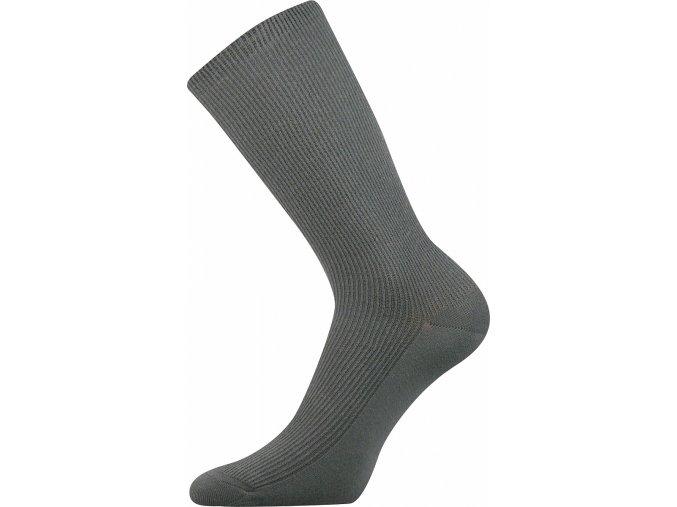 Ponožky pro diabetiky Oregan EXTRA široké šedé