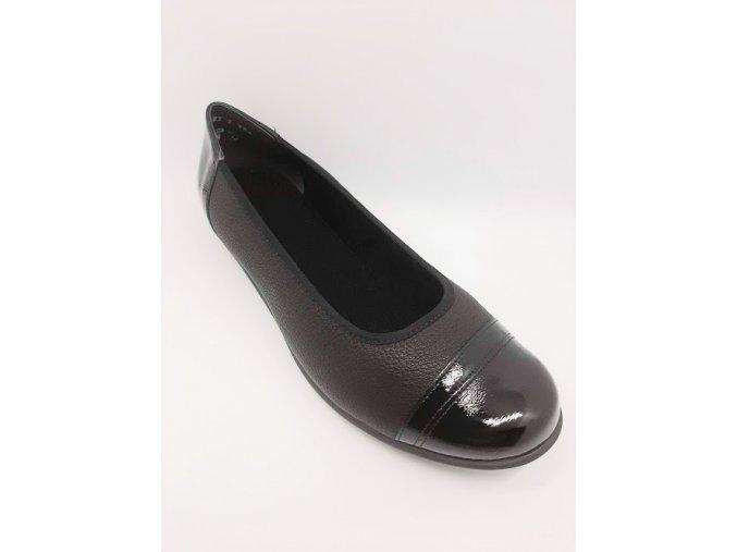 Dámské baleríny Santé AL/813B-1R černé