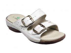 Santé zdravotní obuv N/124/3H/10 dámská bílá