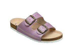Santé zdravotní obuv D 21 76 BP dámská fialová 406b69874b