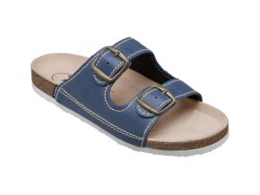 Santé zdravotní obuv D 21 86 BP dámská modrá 0bfa2912ad