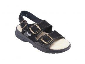 Santé zdravotní obuv 517/43/68/CP dámská černá