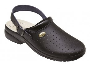 Zdravotní sandály Santé GF/516P černé