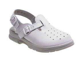 Santé zdravotní obuv N/517/47/10 dámská bílá