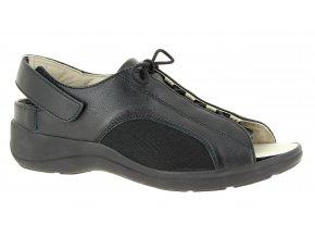 Sandály pro širokou nohu Varomed Belgrad 79711 černé