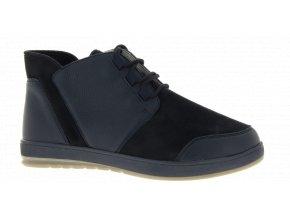 Pánské kotníčkové boty pro široké nohy Varomed Detroit 82520