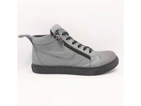 Looke L0010/31 Jocelina šedé dámské kotníkové boty