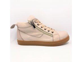 Looke L0010/09 Jocelina béžové dámské kotníkové boty