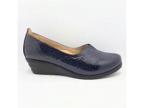 Carya El.4740-009 tm.modrá dámská lodička