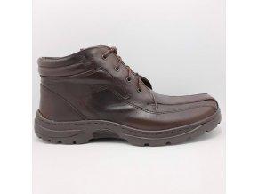 Pánská kotníková bota Peon LU/1003-8 hnědá