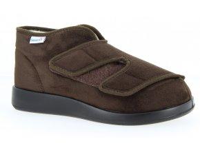 Zateplené boty pro široké nohy Varomed Genua L 60928-52 mocca