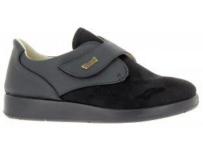 Dámské polobotky pro široké nohy Varomed Tenerifa 60815-60 černé
